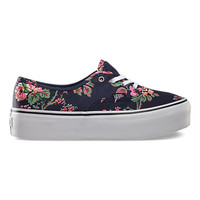 Authentic Platform Floral | Shop Shoes at Vans