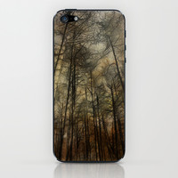 Amidst The Pines iPhone & iPod Skin by Ally Coxon | Society6