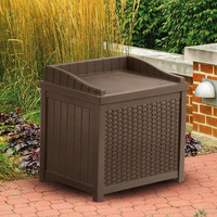Walmart: Suncast Resin Wicker 22-Gallon Storage Seat