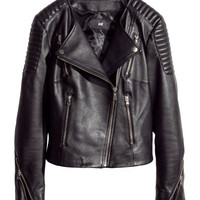 H&M Leather Biker Jacket $199