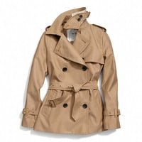 CLASSIC SHORT TRENCH