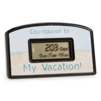 Big Mouth Toys 'My Vacation' Programmable Countdown Clock | Nordstrom