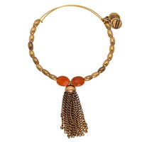 Tangerine Artist's Palette Beaded Bangle