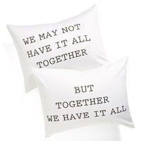 Levtex 'We Have It All' Pillowcase Set | Nordstrom