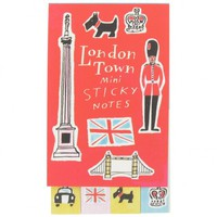 London town mini sticky notes - Sticky notes & Memo blocks - Desk Accessories - Stationery