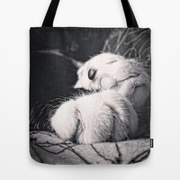 Feline Tote Bag by DuckyB (Brandi)