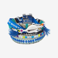 HIPANEMA FLUO BRACELET: BLUE