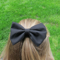 Black Bowtie for hair