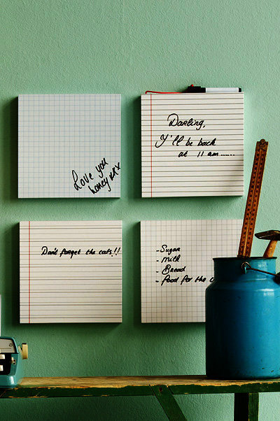 Whiteboard Write Board - Set of 4
