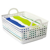 The Container Store  Like-it Handled Grid Basket