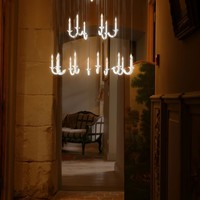 LED chandelier Wersailles Collection by Beau & Bien | design Sylvie Maréchal, Lode Soetewey