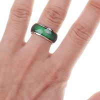 Emotion Feeling Mood Color Changeable Alloy Ring US Size