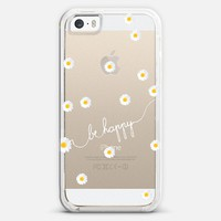 *** HAPPY DAISY CRYSTAL CLEAR ***  iPhone 5s case by Monika Strigel | Casetagram