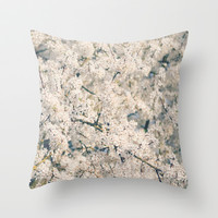 In Full Bloom Throw Pillow by RDelean