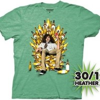 Workaholics Throne of Booze Mens T-shirt
