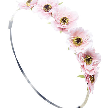 Daisy Crown Headwrap | Wet Seal