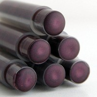 Goth Plum Lipstick - MORTICIA Mineral Lipstick - Deep Plum Colored | BLSoaps - Bath & Beauty on ArtFire