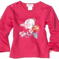 Zutano Baby-Girls Infant Secret Garden Long Sleeve Screen Tee
