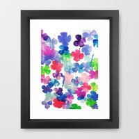 Garden Framed Art Print by DuckyB (Brandi)