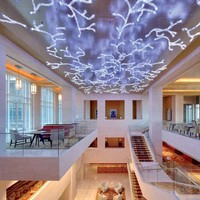 LED crystal ceiling lamp FROZEN BRANCHES Contemporary & Sculptural Lighting Collection by Lasvit | design Tána Dvoráková