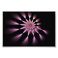 Flower I - Fractal Art Photo Enlargement