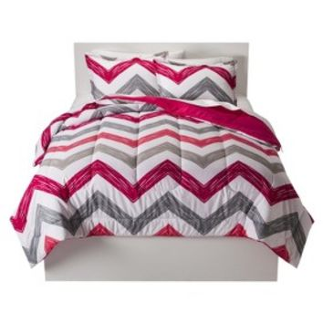 Room Essentials® Reversible Chevron Comforter