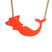 OH, MERMAID! necklace NEON