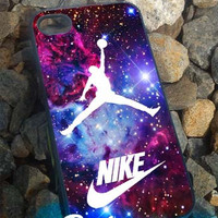Jordan Nike Nebula - iPhone 4/4s/5 Case - Samsung Galaxy S2/S3/S4 Case - Blackberry Z10 Case - Ipod 4/5 Case - Black or White