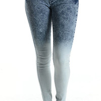 Ombre Denim Skinny | Bloody-Fabulous