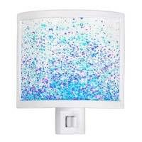sparkly blue night light