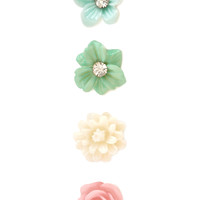 Mixed Bouquet Stud Set