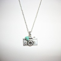 Camera Necklace | HopesandDreamsStudio - Jewelry on ArtFire