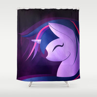 I Love Unicorn ! Shower Curtain by LouJah | Society6