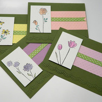Springtime Blooms Stationery Set