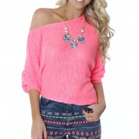 The Summer Sweater Pink