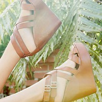 Free People Korkease Platform Wedge