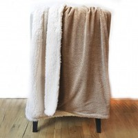 Shelley Sherpa Throw Blanket