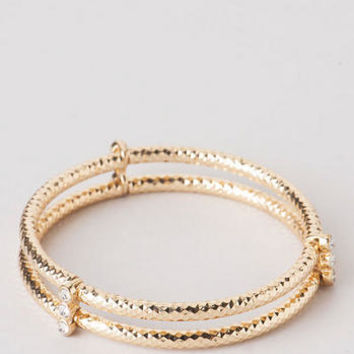 DURANGO BANGLE IN GOLD