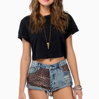 BamBam East Enders Garage Shorts $78