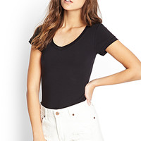 Off-Duty V-Neck Tee