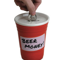 BEER MONEY COIN BANK