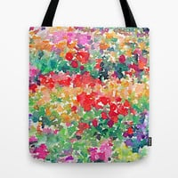 Secret Garden Tote Bag by Jacqueline Maldonado