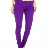 Cotton Cantina Juniors Skinny Jeans Bold Colors
