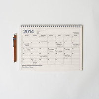 2014 Notebook Calendar Large