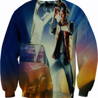 Back to the Future Sweater Crewneck Sweatshirt