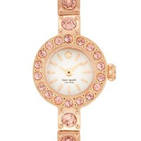 kate spade new york 'pierre' pavé bracelet watch, 10mm | Nordstrom