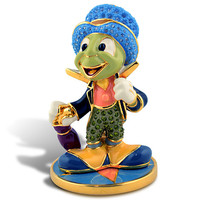 Limited Edition Jiminy Cricket Jeweled Figurine by Arribas