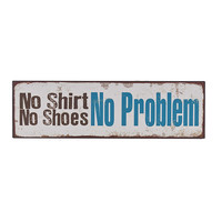 'No Problem' Wall Sign | something special every day