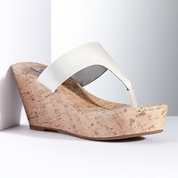 Simply Vera Vera Wang Thong Wedge Sandals - Women