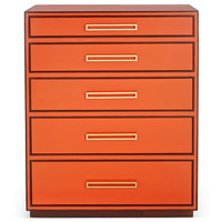 Aria Chest, Tangerine